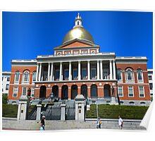 Massachusetts State House. Poster
