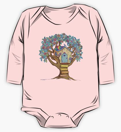 Live Simply, Love Trees One Piece - Long Sleeve