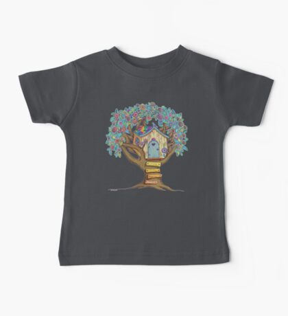 Live Simply, Love Trees Baby Tee