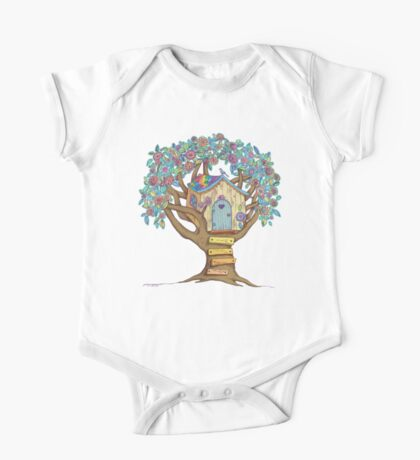Live Simply, Love Trees One Piece - Short Sleeve