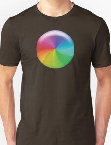 Rainbow Wheel of Death! Unisex T-Shirt