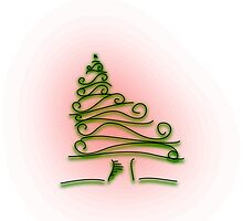 Holiday Tree by motherhenna