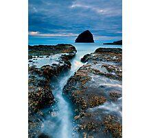 Splitting Stone Photographic Print