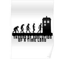 Doctor Who - Theory of Evolution - Black Poster