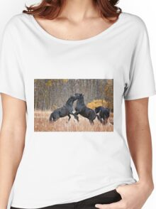 Horsing Around Women's Relaxed Fit T-Shirt