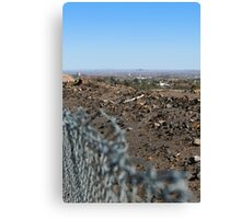 View of Broken Hill Canvas Print