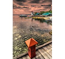 Nalusuan Island Sunset Photographic Print