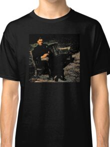 WWII Airman in England Classic T-Shirt