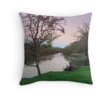 Tranquility at Longford, Tasmania Throw Pillow