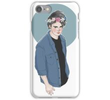 Flower crown michael  iPhone Case/Skin