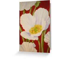 BLOOMIN POPPY Greeting Card