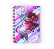 Steven Universe Crystal Gems Spiral Notebook