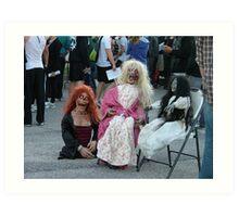 Survive Norfolk Zombies Art Print