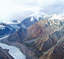 Denali from the Air by noffi