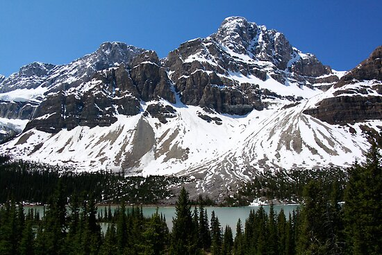 Crowfoot Glacier by Justin Atkins