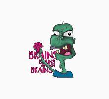 Brains! - Zombie Design - Brains, Brains and more Brains! Unisex T-Shirt