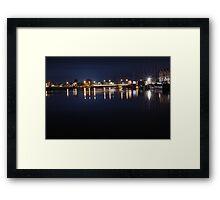 Launceston Sea Port Framed Print