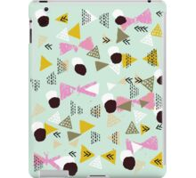 Ralea - abstract design triangle geometric circle print texture dots mid century modern  iPad Case/Skin