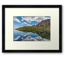 Glaslyn Lake Framed Print