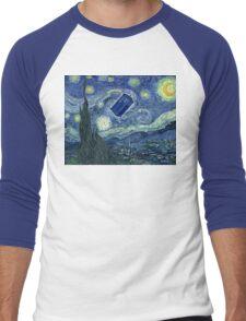 Doctor Who - Starry night Men's Baseball ¾ T-Shirt
