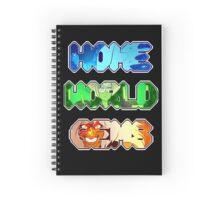 Steven Universe- Homeworld Gems Spiral Notebook