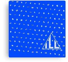 Diamondfall Blue Ribbon Canvas Print