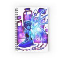 Steven Universe Lapis sitting Spiral Notebook