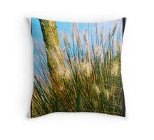 Whispering Tails Throw Pillow