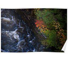 Vermont Gorge Poster
