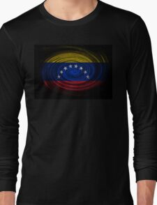 Venezuela Twirl Long Sleeve T-Shirt