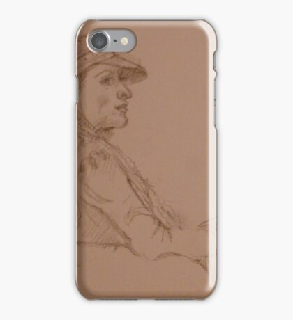 Quick-Sketching at Bob's iPhone Case/Skin