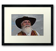 """"""" Wild Bill .... """" Framed Print"""