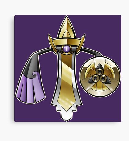 Pokemon- Aegislash Canvas Print