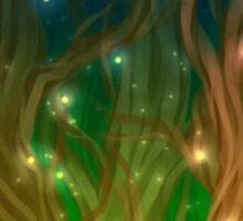 Firefly Forest Sticker