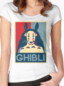 Hope Ghibli Women's Fitted Scoop T-Shirt