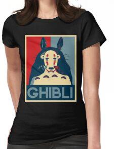 Hope Ghibli Womens Fitted T-Shirt