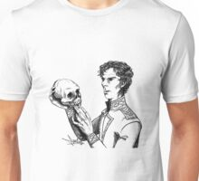 Alas, poor Yorick! Unisex T-Shirt