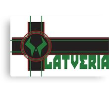 the proud country of latveria Canvas Print