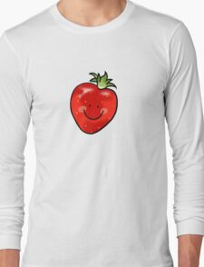 Red strawberry fruit Long Sleeve T-Shirt