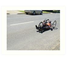 DOOKIE ROAD RACE Art Print