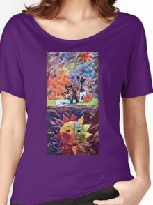 Exclusive: My Creations Artistic Sculpture Relief fact Main 9  PAINT (Painting & Mixed Media) (c)(h) by Olao-Olavia / Okaio Créations Women's Relaxed Fit T-Shirt