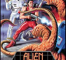 Alien Storm Mega Drive Cover by TWMTees
