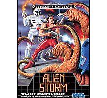 Alien Storm Mega Drive Cover Photographic Print