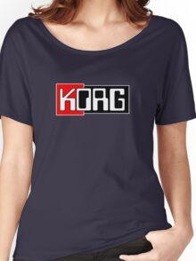 Korg  Music Women's Relaxed Fit T-Shirt