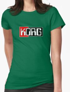 Korg  Music Womens Fitted T-Shirt