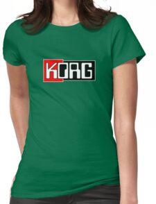Korg  Music Womens Fitted T-Shirt
