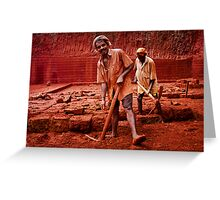 red men Greeting Card