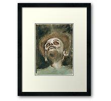 Bob Ross Rotting (Watercolor II) Framed Print