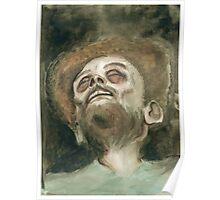 Bob Ross Rotting (Watercolor II) Poster