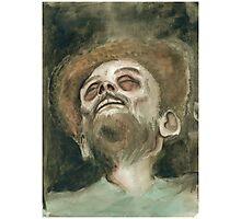 Bob Ross Rotting (Watercolor II) Photographic Print